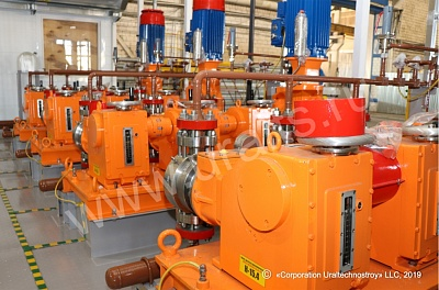 Methanol pumping station manufactured in short order